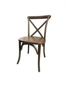 X Back Chair Rustic